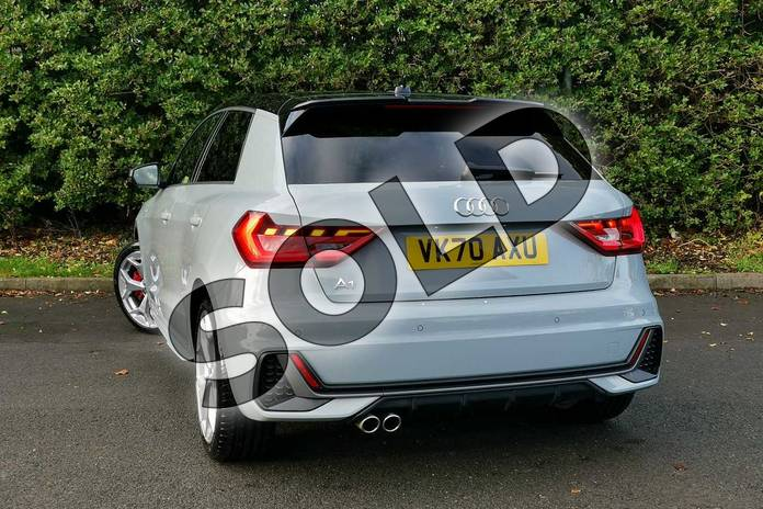 Image fourteen of this 2020 Audi A1 Sportback 40 TFSI S Line Competition 5dr S Tronic in Arrow Grey Pearlescent at Worcester Audi