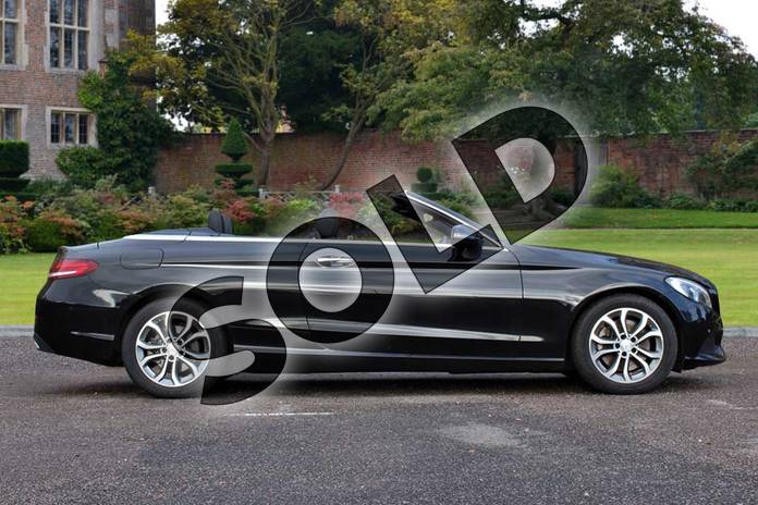 Image eleven of this 2017 Mercedes-Benz C Class Diesel Cabriolet C250d Sport 2dr Auto in Obsidian Black Metallic at Mercedes-Benz of Lincoln