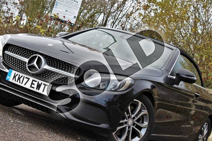 Image sixteen of this 2017 Mercedes-Benz C Class Diesel Cabriolet C250d Sport 2dr Auto in Obsidian Black Metallic at Mercedes-Benz of Lincoln