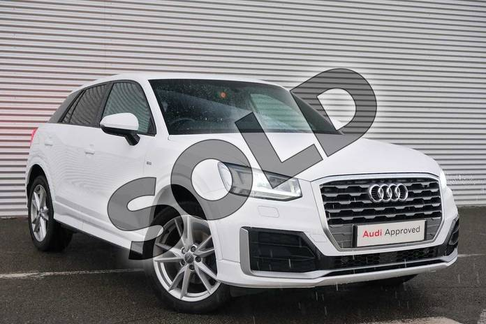 Picture of Audi Q2 1.4 TFSI S Line 5dr S Tronic in Ibis White