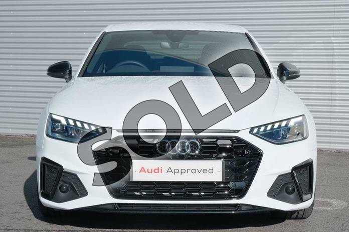 Image seven of this 2019 Audi A4 Saloon 35 TFSI Black Edition 4dr S Tronic in Ibis White at Coventry Audi