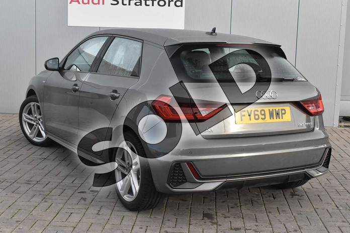Image three of this 2019 Audi A1 Sportback 30 TFSI S Line 5dr in Chronos Grey Metallic at Stratford Audi