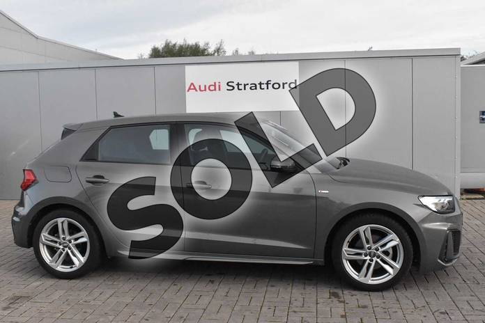 Image four of this 2019 Audi A1 Sportback 30 TFSI S Line 5dr in Chronos Grey Metallic at Stratford Audi