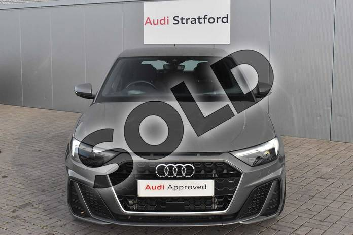 Image seven of this 2019 Audi A1 Sportback 30 TFSI S Line 5dr in Chronos Grey Metallic at Stratford Audi
