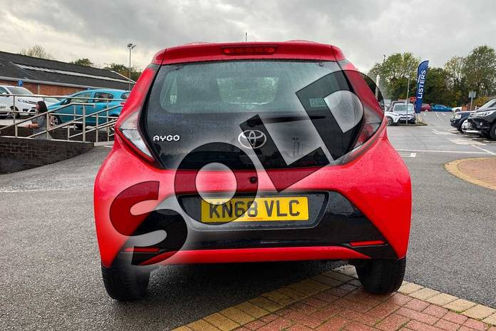 Image nineteen of this 2018 Toyota Aygo Hatchback 1.0 VVT-i X-Play 5dr in Red at Listers Toyota Coventry