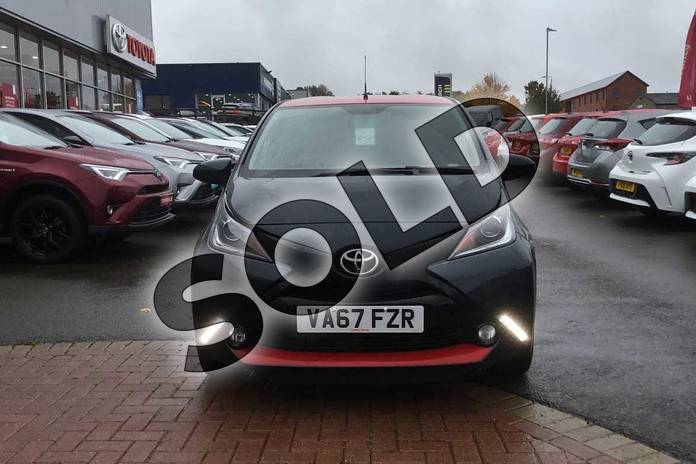Image fifteen of this 2018 Toyota AYGO Hatchback 1.0 VVT-i X-Press 5dr in Electro Grey at Listers Toyota Grantham