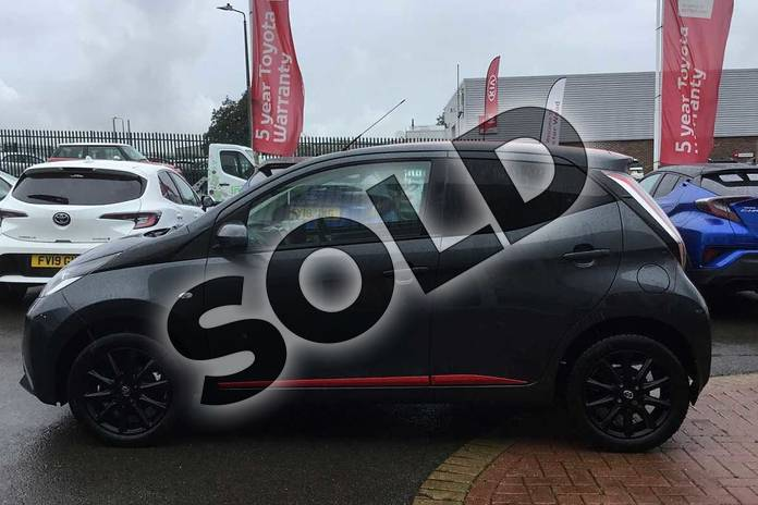 Image seventeen of this 2018 Toyota AYGO Hatchback 1.0 VVT-i X-Press 5dr in Electro Grey at Listers Toyota Grantham