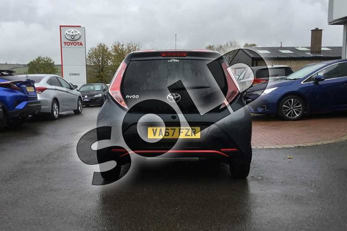 Image nineteen of this 2018 Toyota AYGO Hatchback 1.0 VVT-i X-Press 5dr in Electro Grey at Listers Toyota Grantham