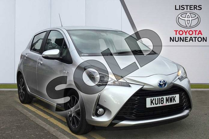 Picture of Toyota Yaris 1.5 Hybrid Icon Tech 5dr CVT in Silver