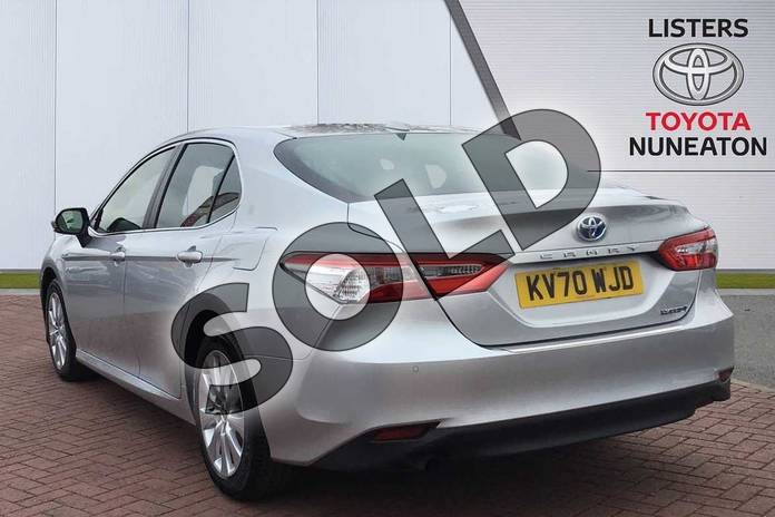 Image four of this 2020 Toyota Camry Saloon 2.5 VVT-i Hybrid Design 4dr CVT in Silver at Listers Toyota Nuneaton
