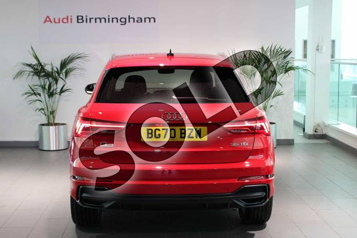 Image fifteen of this 2020 Audi Q3 Diesel Estate 35 TDI S Line 5dr S Tronic in Tango Red Metallic at Birmingham Audi
