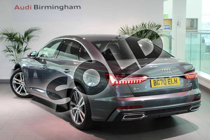 Image three of this 2020 Audi A6 Diesel Saloon 40 TDI Quattro S Line 4dr S Tronic in Daytona Grey Pearlescent at Birmingham Audi