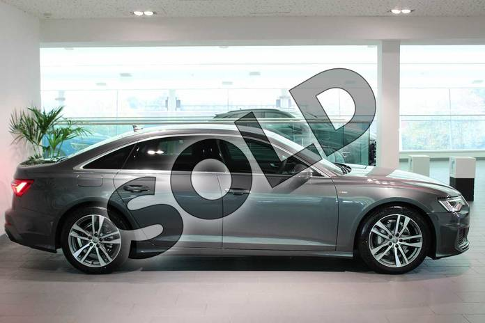 Image four of this 2020 Audi A6 Diesel Saloon 40 TDI Quattro S Line 4dr S Tronic in Daytona Grey Pearlescent at Birmingham Audi