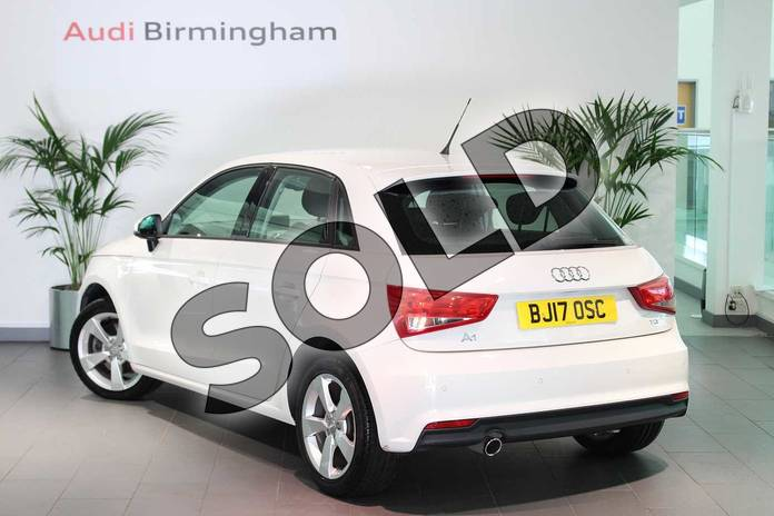 Image three of this 2017 Audi A1 Diesel Sportback 1.6 TDI Sport 5dr in Shell White at Birmingham Audi
