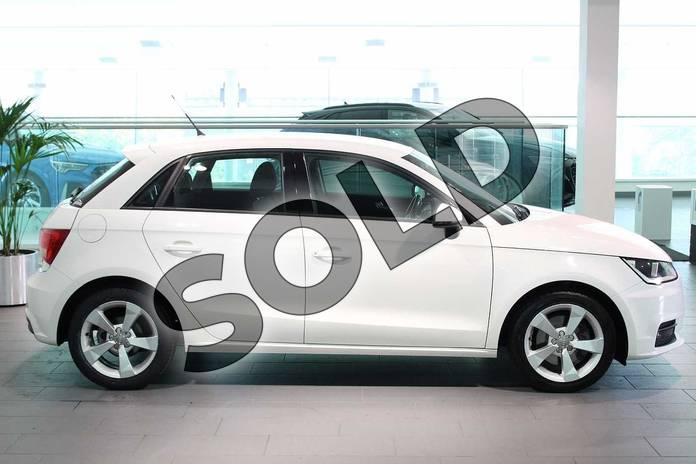 Image four of this 2017 Audi A1 Diesel Sportback 1.6 TDI Sport 5dr in Shell White at Birmingham Audi