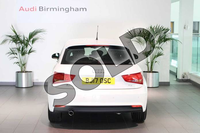 Image eleven of this 2017 Audi A1 Diesel Sportback 1.6 TDI Sport 5dr in Shell White at Birmingham Audi