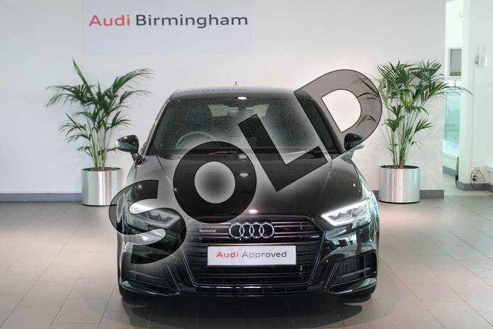 Image seven of this 2020 Audi A3 Diesel Sportback 40 TDI 184 Quattro Black Edition 5dr S Tronic in Myth Black Metallic at Birmingham Audi