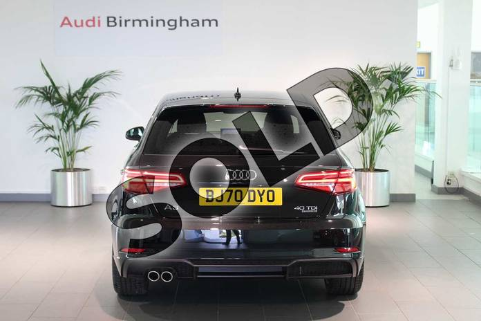 Image thirteen of this 2020 Audi A3 Diesel Sportback 40 TDI 184 Quattro Black Edition 5dr S Tronic in Myth Black Metallic at Birmingham Audi