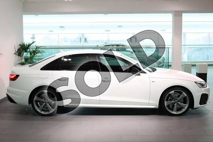 Image four of this 2020 Audi A4 Diesel Saloon 35 TDI Black Edition 4dr S Tronic in Ibis White at Birmingham Audi