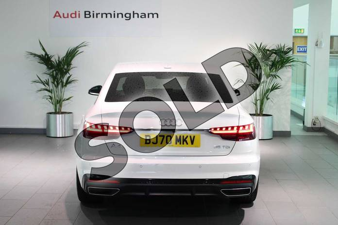 Image fourteen of this 2020 Audi A4 Diesel Saloon 35 TDI Black Edition 4dr S Tronic in Ibis White at Birmingham Audi