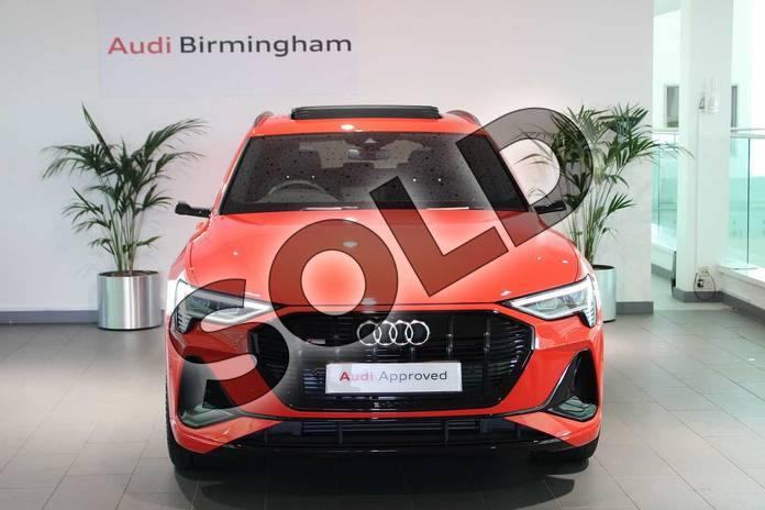 Image seven of this 2020 Audi e-tron Estate Special Editions 230kW 50 Quattro 71kWh Launch Edition 5dr Auto in Catalunya Red Metallic at Birmingham Audi