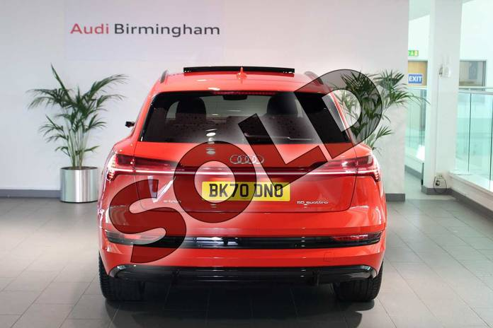 Image eighteen of this 2020 Audi e-tron Estate Special Editions 230kW 50 Quattro 71kWh Launch Edition 5dr Auto in Catalunya Red Metallic at Birmingham Audi