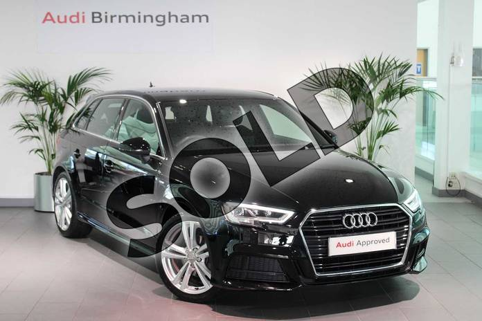 Picture of Audi A3 1.5 TFSI S Line 5dr S Tronic in Brilliant Black
