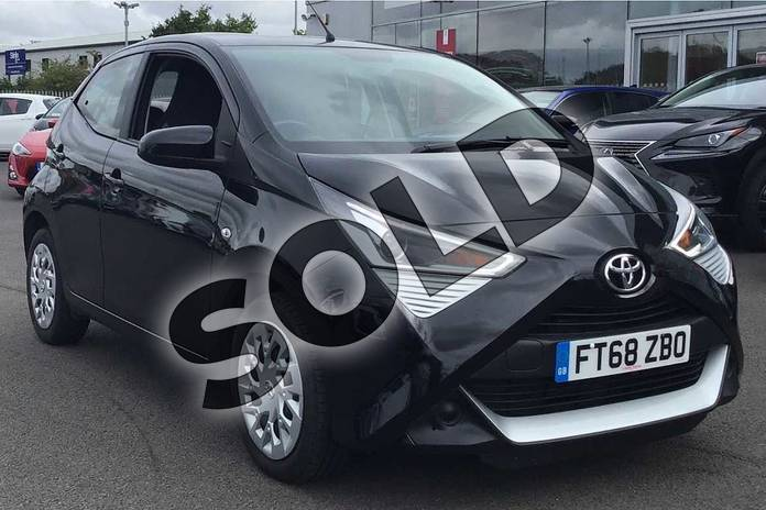 Picture of Toyota AYGO 1.0 VVT-i X-Play 5dr in Bold Black