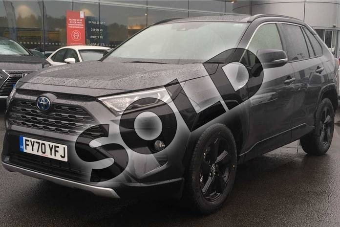 Image three of this 2020 Toyota RAV4 Estate 2.5 VVT-i Hybrid Dynamic 5dr CVT in Decuma Grey at Listers Toyota Lincoln