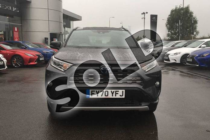 Image fifteen of this 2020 Toyota RAV4 Estate 2.5 VVT-i Hybrid Dynamic 5dr CVT in Decuma Grey at Listers Toyota Lincoln