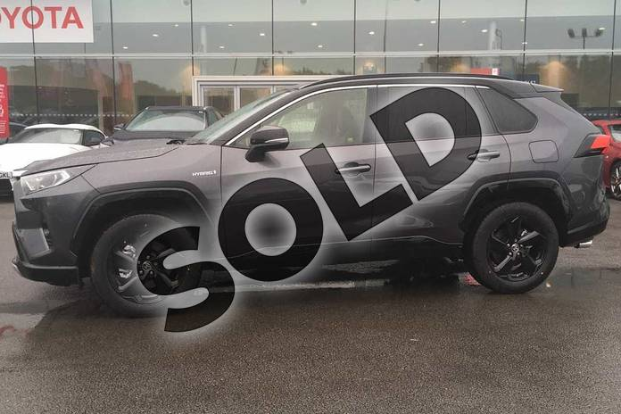 Image seventeen of this 2020 Toyota RAV4 Estate 2.5 VVT-i Hybrid Dynamic 5dr CVT in Decuma Grey at Listers Toyota Lincoln