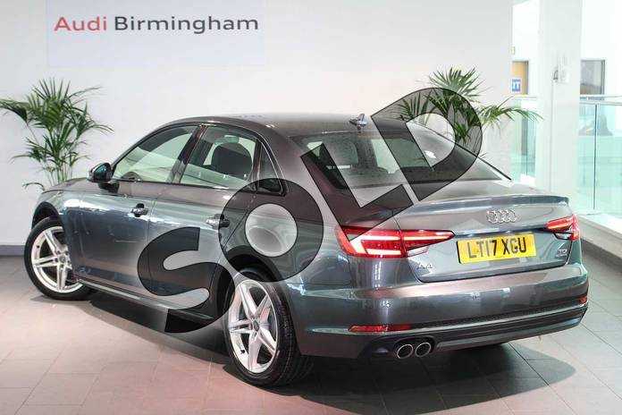 Image three of this 2017 Audi A4 Diesel Saloon 2.0 TDI 190 Quattro S Line 4dr S Tronic in Daytona Grey Pearlescent at Birmingham Audi