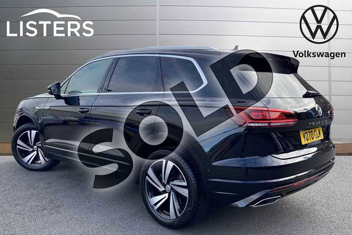 Image three of this 2020 Volkswagen Touareg Estate 3.0 V6 TSI 4Motion R-Line Tech 5dr Tip Auto in Deep black at Listers Volkswagen Stratford-upon-Avon