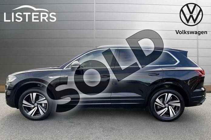 Image four of this 2020 Volkswagen Touareg Estate 3.0 V6 TSI 4Motion R-Line Tech 5dr Tip Auto in Deep black at Listers Volkswagen Stratford-upon-Avon
