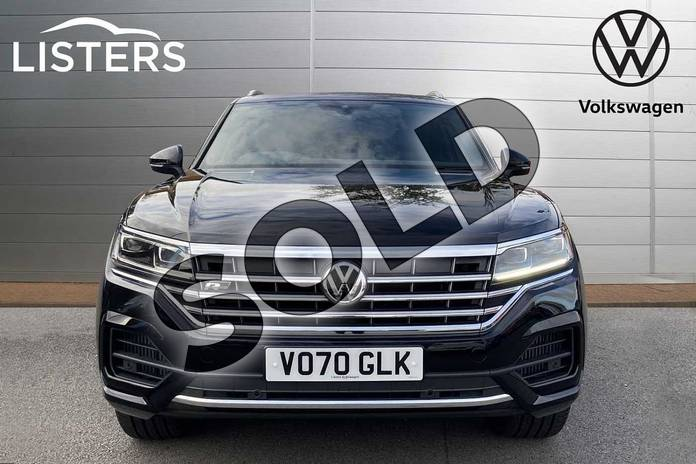 Image seven of this 2020 Volkswagen Touareg Estate 3.0 V6 TSI 4Motion R-Line Tech 5dr Tip Auto in Deep black at Listers Volkswagen Stratford-upon-Avon