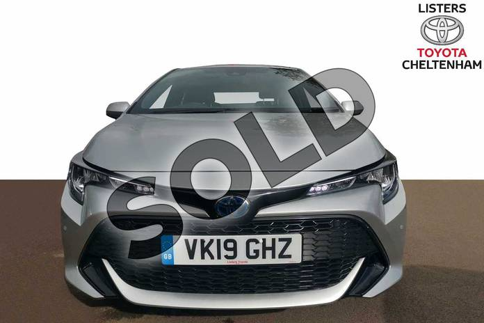 Image fifteen of this 2019 Toyota Corolla Hatchback 1.8 VVT-i Hybrid Icon Tech 5dr CVT in Silver at Listers Toyota Cheltenham