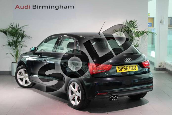 Image three of this 2016 Audi A1 Sportback 1.4 TFSI Sport 5dr in Brilliant Black at Birmingham Audi