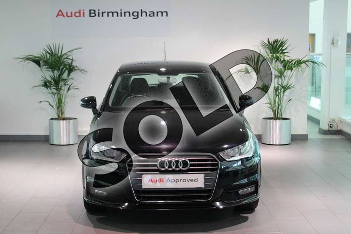 Image seven of this 2016 Audi A1 Sportback 1.4 TFSI Sport 5dr in Brilliant Black at Birmingham Audi