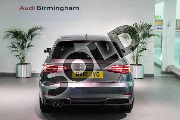 Image thirteen of this 2018 Audi A3 Sportback 1.5 TFSI S Line 5dr in Daytona Grey Pearlescent at Birmingham Audi