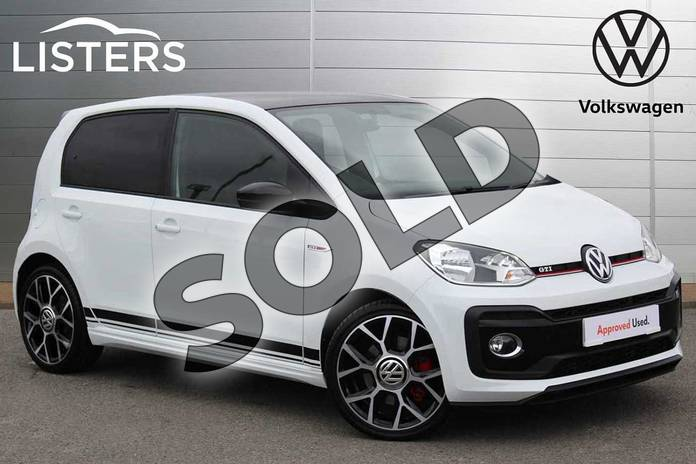 Picture of Volkswagen Up 1.0 115PS Up GTI 5dr in Pure White Black Roof