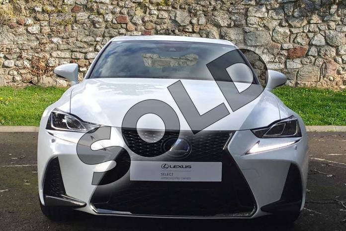 Image four of this 2020 Lexus IS Saloon 300h F-Sport 4dr CVT Auto (Navigation) in F Sport White at Lexus Coventry