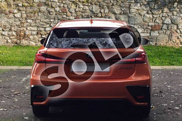 Image five of this 2020 Lexus CT Hatchback 200h 1.8 F-Sport 5dr CVT in Solar Flare Orange at Lexus Coventry