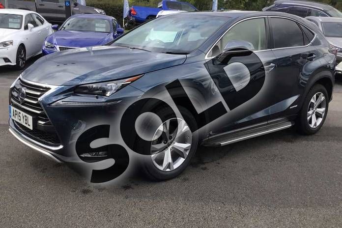 Image seventeen of this 2015 Lexus NX Estate 300h 2.5 Premier 5dr CVT in Meteor Blue at Lexus Lincoln