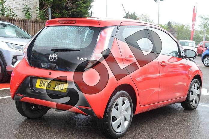 Image two of this 2016 Toyota AYGO Hatchback 1.0 VVT-i X-Play 5dr in Red Pop at Listers Toyota Coventry
