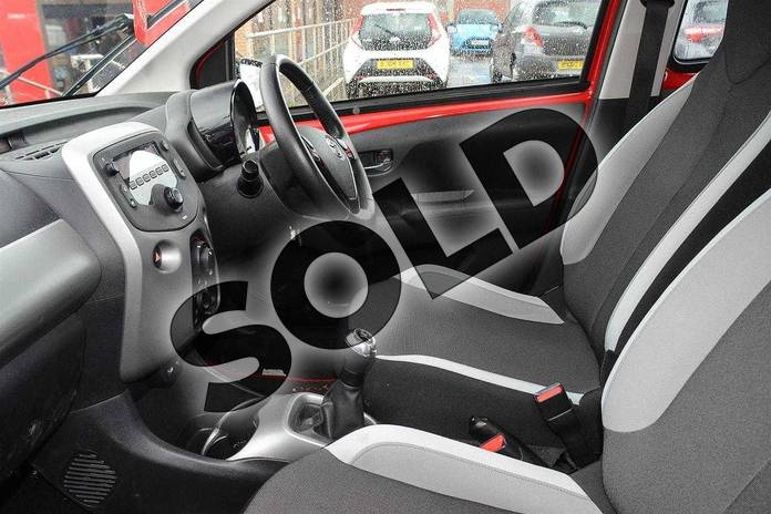 Image ten of this 2016 Toyota AYGO Hatchback 1.0 VVT-i X-Play 5dr in Red Pop at Listers Toyota Coventry