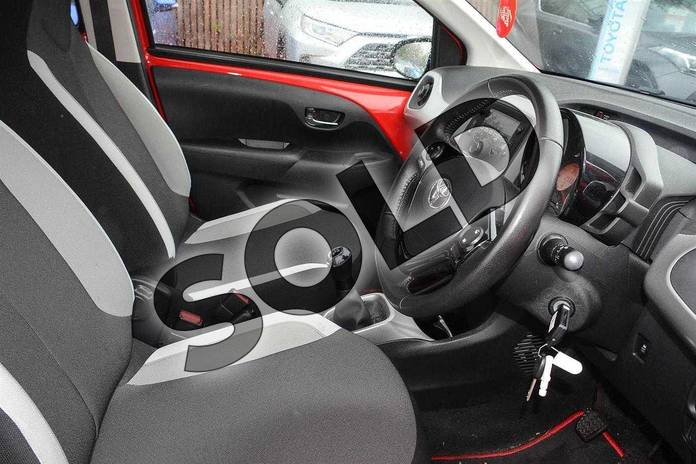 Image eleven of this 2016 Toyota AYGO Hatchback 1.0 VVT-i X-Play 5dr in Red Pop at Listers Toyota Coventry