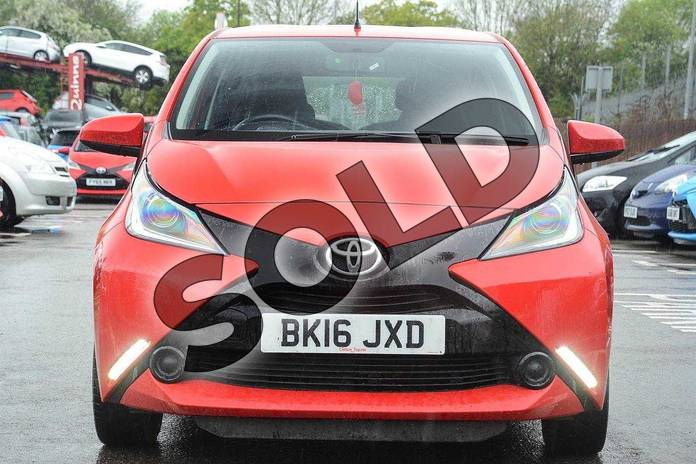 Image fifteen of this 2016 Toyota AYGO Hatchback 1.0 VVT-i X-Play 5dr in Red Pop at Listers Toyota Coventry