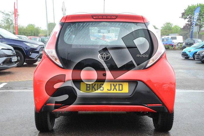 Image nineteen of this 2016 Toyota AYGO Hatchback 1.0 VVT-i X-Play 5dr in Red Pop at Listers Toyota Coventry