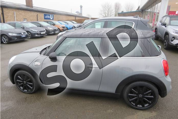 Image five of this 2017 MINI Hatchback 2.0 Cooper S 3dr in Metallic - Moonwalk Grey at Listers Toyota Grantham