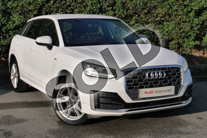 Picture of Audi Q2 1.0 TFSI S Line 5dr in Ibis White